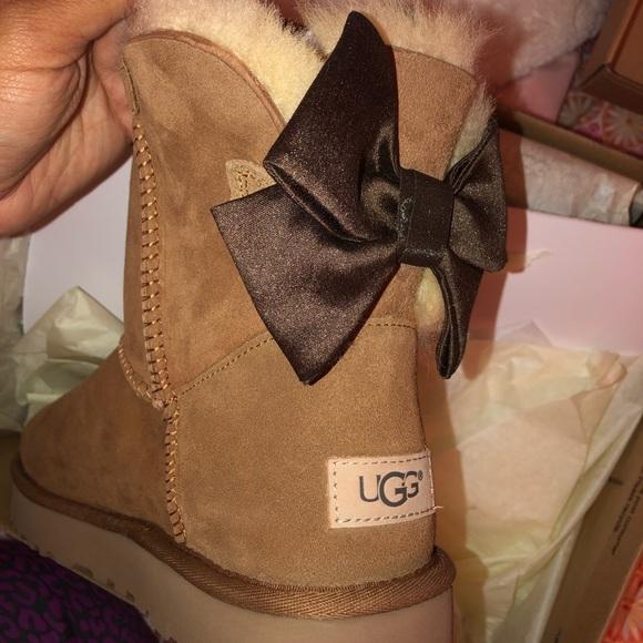 ff31267af49 Ugg Bailey Bow Glam Boot NWT